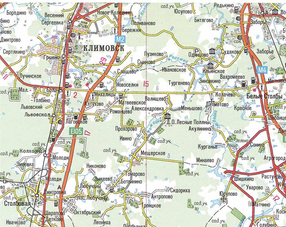 станция весенняя климовск на карте отметить, что